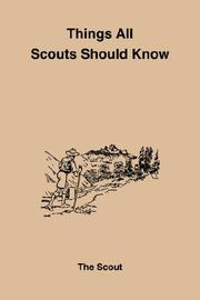 Things All Scouts Should Know PDF