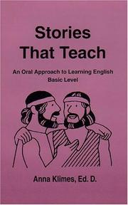 Stories That Teach, An Oral Approach to Learning English, Basic Level PDF