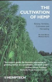 The cultivation of hemp by Bócsa, Iván.