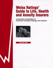 Weiss Ratings' Guide to Life, Health and Annuity Insurers PDF