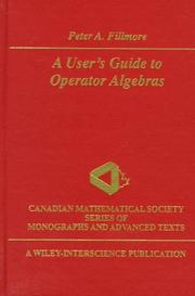 A user's guide to operator algebras PDF