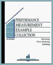 Performance Measurement Example Collection PDF