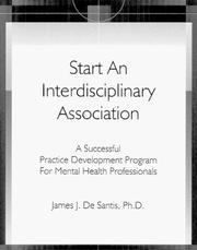 Start An Interdisciplinary Association PDF