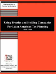 Using Treaties and Holding Companies for Latin American Tax Planning PDF
