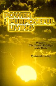 Power for Purposeful Living PDF