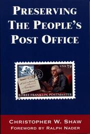 Preserving the People's Post Office PDF