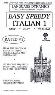 Easy Speedy Italian 1 PDF