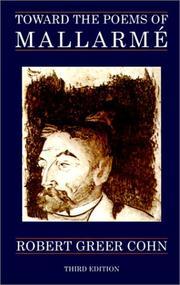 Toward the Poems of Mallarme PDF