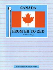 Canada From Eh to Zed PDF