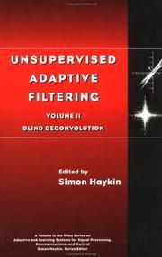 Unsupervised adaptive filtering