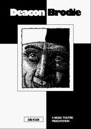 Deacon Brodie (Piano/vocal Score) PDF