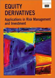 Equity Derivatives Applications in Risk Management and Investment PDF