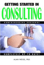 Getting started in consulting PDF
