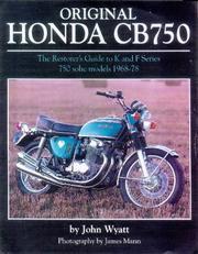 Original Honda Cb750 (Original) PDF