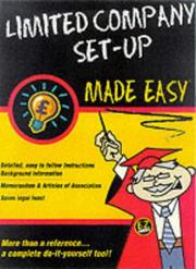 Limited Company Formation Made Easy (Made Easy Guides) PDF