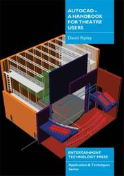 AutoCAD - a Handbook for Theatre Users PDF