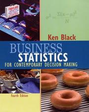 Business Statistics by Ken Black
