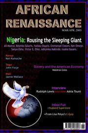 African Renaissance March/april 2005 PDF