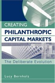 Creating Philanthropic Capital Markets PDF