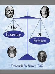 The Essence Of Ethics PDF