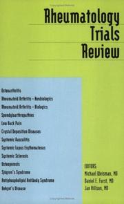Rheumatology Trials Review PDF