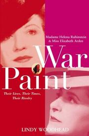 War Paint by Lindy Woodhead