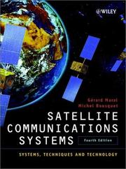 Satellite communications systems by Gérard Maral