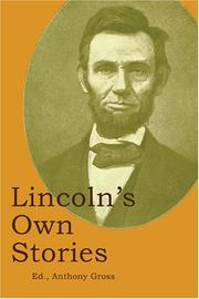 Lincoln's Own Stories PDF