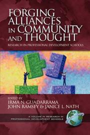 Cover of: Forging Alliances in Community and Thought by Irma N. Guadarrama