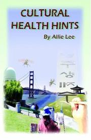 Cultural Health Hints