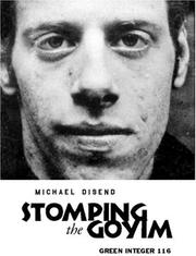 Cover of: Stomping the Goyim (Green Integer, 116) by Michael Disend
