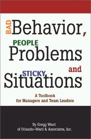 Bad Behavior, People Problems and Sticky Situations PDF