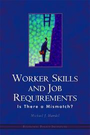 Worker Skills And Job Requirements Is There A Mismatch? PDF