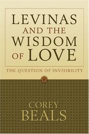 Levinas and the Wisdom of Love PDF