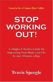 Stop Working Out! PDF