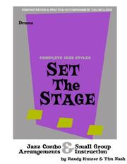 Set the Stage Jazz Combo/Small Group Arrangements and Instruction PDF
