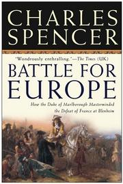 Battle for Europe by Charles Spencer, Earl Spencer
