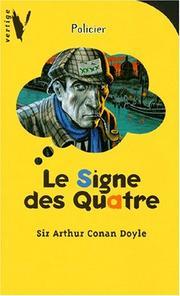 La Marque des quatre. Arthur Conan Doyle.