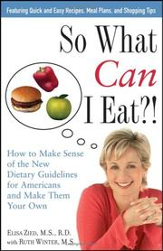 So what can I eat?! PDF