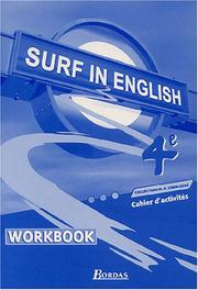 Cahier surf in english 4e 2002