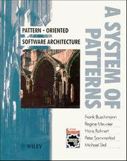 Pattern-Oriented Software Architecture Volume 1