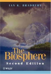 The Biosphere by Ian K. Bradbury