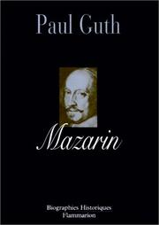 Mazarin by Paul Guth
