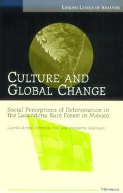 Culture and global change by Lourdes Arizpe S.