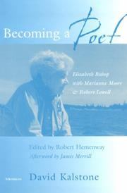 Becoming a poet by David Kalstone