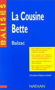 La Cousine Bette PDF