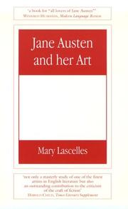 Jane Austen and her art by Mary Lascelles