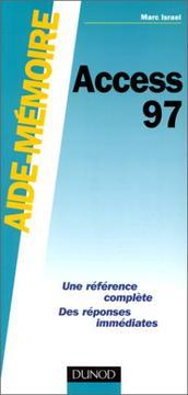 Access 97, aide-m PDF