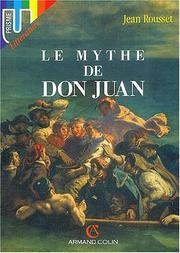Le mythe de Don Juan PDF