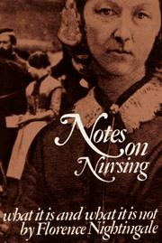Cover of: Nursing